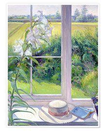 Póster  Reading corner in the window, detail - Timothy Easton