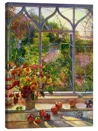 Lienzo  Vista de otoño - Timothy Easton