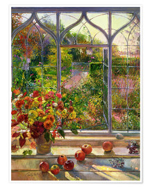 Póster  Vista de otoño - Timothy Easton