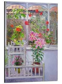 Cuadro de aluminio  In the winter garden - Timothy Easton