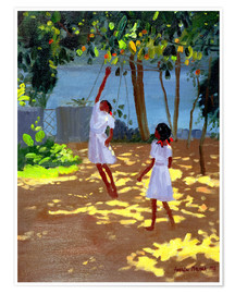 Póster  Reaching for Oranges, Bentota - Andrew Macara