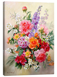 Lienzo  A High Summer Bouquet - Albert Williams