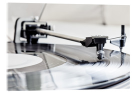 Metacrilato  turntable - Filtergrafia