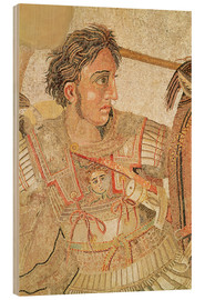 Cuadro de madera  Alexander the Great - Roman