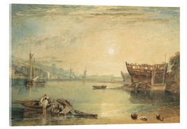Cuadro de metacrilato  Teignmouth, Devonshire - Joseph Mallord William Turner