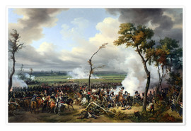 Póster Battle of Hanau, 1813