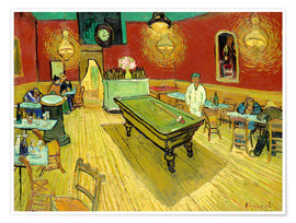 Póster  Night Cafe in Arles - Vincent van Gogh