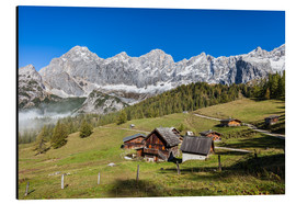 Cuadro de aluminio  Alm in the Alps - Gerhard Wild