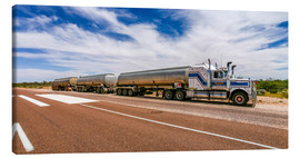 Lienzo  Road Train Australia - Thomas Hagenau