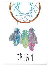 Póster  Dreamcatcher - GreenNest
