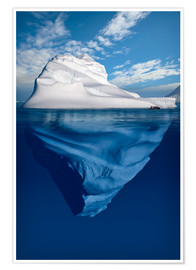 Póster  Iceberg en el Ártico canadiense - Richard Wear