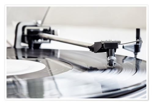 Póster turntable