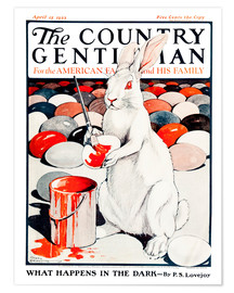 Póster  Cover of Country (White Rabbit) - Remsberg