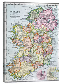 Lienzo  Irish Free State And Northern Ireland - Ken Welsh