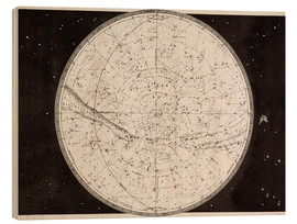 Cuadro de madera  Map Of The Northern Heavens - Ken Welsh
