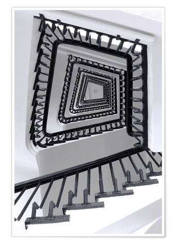 Póster STAIRCASE I