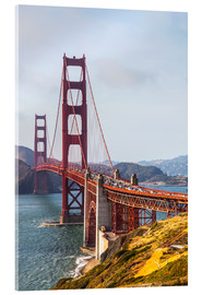 Metacrilato  Puente Golden Gate en San Francisco - Leah Bignell