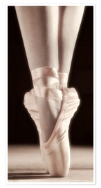 Póster  Zapatillas de ballet - Don Hammond