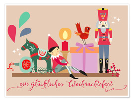 Póster A happy Christmas (German)
