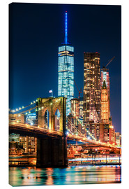 Lienzo  New York City Landmarks - Sascha Kilmer