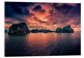 Cuadro de metacrilato  Sunrise over Halong Bay - Stefan Becker