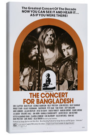 Lienzo  THE CONCERT FOR BANGLADESH