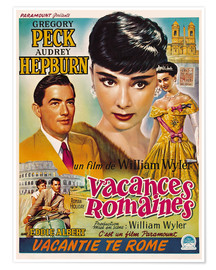 Póster  ROMAN HOLIDAY