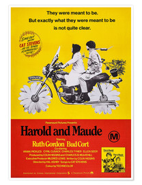 Póster  Harold and Maude