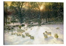 Cuadro de aluminio  The Shortening Winter's Day is Near a Close - Joseph Farquharson