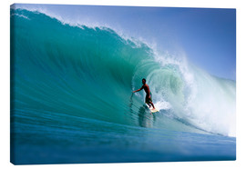 Lienzo  Surfing the dream wave - Paul Kennedy