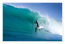Póster  Surfing the dream wave - Paul Kennedy