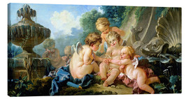 Lienzo  Angels in the Game - François Boucher