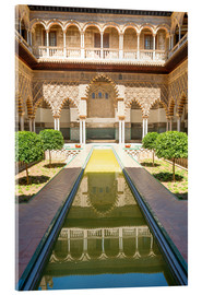 Metacrilato  Courtyard of the Maidens in the royal Alcazar of Seville, Spain - Matteo Colombo