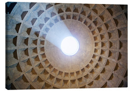 Lienzo  Ceiling of the Pantheon temple, Rome - Matteo Colombo