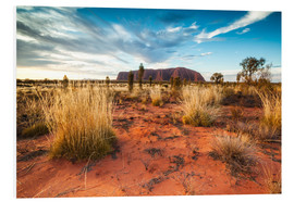 Forex  Red Desert at Ayers Rock - Matteo Colombo