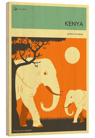 Jazzberry Blue - Kenya Travel Poster