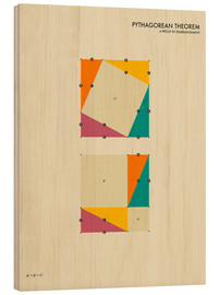 Madera  Pythagorean Theorem - Jazzberry Blue