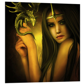 Forex  The girl and the dragon - Elena Dudina