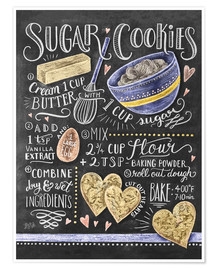 Póster  Sugar cookies recipe - Lily & Val