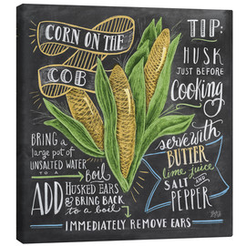 Lienzo  Corn on the cob - Lily & Val