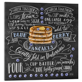 Lily & Val - Blueberry pancakes recipe