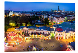 Cuadro de metacrilato  View from the Vienna Giant Ferris Wheel on the Prater - Benjamin Butschell