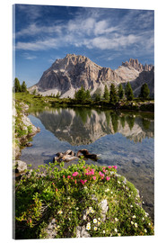 Metacrilato  Alps - Dolomites - Summer Lake - Tobias Richter