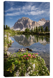 Lienzo  Alps - Dolomites - Summer Lake - Tobias Richter