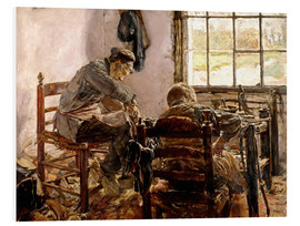 Cuadro de PVC  Shoemaker's Workshop - Max Liebermann