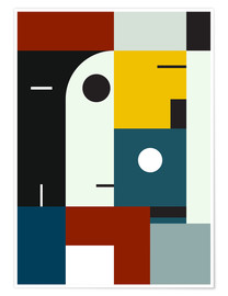 Póster  BAUHAUS AGE - THE USUAL DESIGNERS