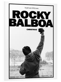 Cuadro de PVC  Rocky Balboa - Entertainment Collection