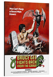 Aluminio-Dibond  Bruce Lee fights back from the grave