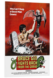Cuadro de PVC  Bruce Lee Fights Back from the Grave - Entertainment Collection