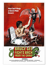 Póster  Bruce Lee Fights Back from the Grave - Entertainment Collection